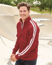 Independent Trading EXP70PTZ Unisex Poly-Tech Full-Zip Track Jacket