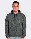 Fruit Of The Loom SF77R Sofspun® Microstripe Hooded Pullover Sweatshirt