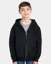 Jerzees 993BR NuBlend® Youth Full-Zip Hooded Sweatshirt