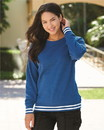 J.America 8652 Women's Relay Crewneck Sweatshirt