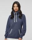 J.America 8653 Women's Relay Cowl Neck Sweatshirt