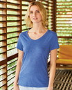 Hanes 42VT Women's Premium Triblend V-Neck Short Sleeve T-Shirt