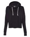 J.America 8684 Women's Lounge Fleece Hi-Low Hooded Sweatshirt