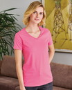 Hanes 5780 ComfortSoft® Women's V-Neck Short Sleeve T-Shirt