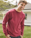 ComfortWash by Hanes GDH250 Garment Dyed Long Sleeve T-Shirt With a Pocket
