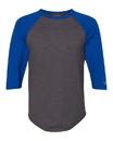 Champion CP75 Premium Fashion Raglan Three-Quarter Sleeve Baseball T-Shirt