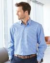 Van Heusen 13V5051 Broadcloth Point Collar Check Shirt