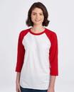 Jerzees 560RR Premium Blend Ringspun Three-Quarter Sleeve Raglan Baseball T-Shirt