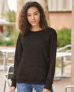 J.America 8867 Women's Glitter French Terry Sweatshirt