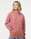 Independent Trading SS650 Juniors' Heavenly Fleece Lightweight Hooded Sweatshirt