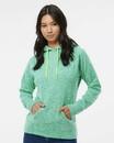 J.America 8616 Women's Cosmic Fleece Hooded Sweatshirt