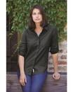 Weatherproof W198306 Women's Vintage Brushed Flannel Solid Shirt