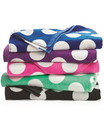 Carmel Towel C3060P Polka Dot Velour Beach Towel
