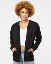 Independent Trading PRM33SBZ Unisex Special Blend Raglan Full-Zip Hooded Sweatshirt