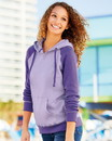 MV Sport W17127 Women's Harper Raglan Hooded Sweatshirt