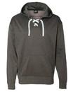 J.America 8833 Sport Lace Polyester Fleece Hooded Sweatshirt