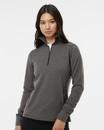 J.America 8433 Women's Omega Stretch Quarter-Zip Pullover