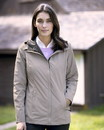 Weatherproof 17604W Women's 32 Degrees Mélange Rain Jacket