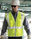 Kishigo 1507-1508 Premium Brilliant Series® Three-Pocket Zippered Mesh Vest