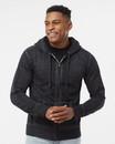 J.America 8916 Vintage Zen Fleece Full-Zip Hooded Sweatshirt