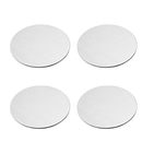 Aspire Set of 4 Coasters Stainless Steel Drink Coaster for Home Counter, Kitchen, Dining Room