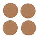 Aspire Bulksale Kitchen Cork Coasters Pack of 4, Absorbent Drink Coaster Placemat Table Mat Bar Size