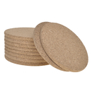 Aspire Absorbent Cork Coasters Heat-Resistant Reusable Saucers for Cold Drinks Cups & Mugs