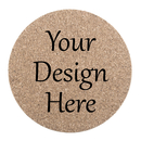 Aspire Personalized Cork Coaster for Drinks Absorbent Custom Gifts for Wedding, Birthday