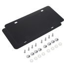 Muka 2 Pack Stainless Steel Metal License Plate Cover with Screws For US Standard