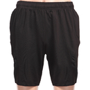 TopTie Boys Black Gym Shorts, Basketball Shorts, 7