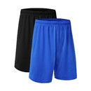 TOPTIE 2-Pack Big Boys Youth Soccer Short, 8 Inches Running Shorts with Pockets