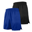 TOPTIE Multi-Sport Athletic Big Boys 2-Pack Basketball Shorts, 7 Inches Pocket Running Shorts