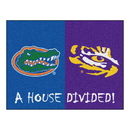 Fanmats 10304 Florida - LSU House Divided Rug 33.75