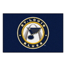 Fanmats 10590 NHL - St. Louis Blues Starter Mat 19