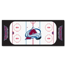 Fanmats 10620 NHL - Colorado Avalanche Rink Runner 30
