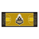 Fanmats 10728 Purdue 'Train' Basketball Court Runner 30