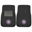 Fanmats 10742 MLB - Chicago Cubs 2-pc Embroidered Car Mats 17