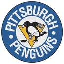 Fanmats 11052 NHL - Pittsburgh Penguins Puck Mat 27