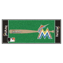 Fanmats 11077 MLB - Miami Marlins Baseball Runner 30