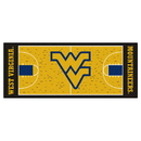 Fanmats 11124 West Virginia Basketball Court Runner 30