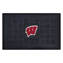 Fanmats 11391 Wisconsin Door Mat 19.5