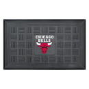Fanmats 11404 NBA - Chicago Bulls Door Mat 19.5