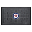 Fanmats 11480 NHL - Winnipeg Jets Door Mat 19.5