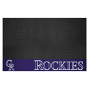 Fanmats 12152 MLB - Colorado Rockies Grill Mat 26