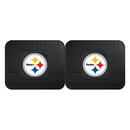 Fanmats 12302 NFL - Pittsburgh Steelers 2-pc Utility Mat 14