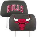 Fanmats 12521 NBA - Chicago Bulls Head Rest Cover 10