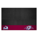 Fanmats 14231 NHL - Colorado Avalanche Grill Mat 26