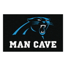 Fanmats 14278 NFL - Carolina Panthers Man Cave UltiMat 59.5