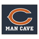 Fanmats 14283 NFL - Chicago Bears Man Cave Tailgater Rug 59.5