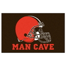 Fanmats 14290 NFL - Cleveland Browns Man Cave UltiMat 59.5
